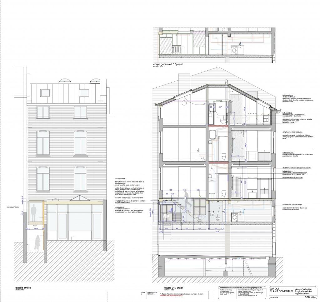 Atelier d 39 architecture aloys beguin brigitte massart for Architecte transformation maison